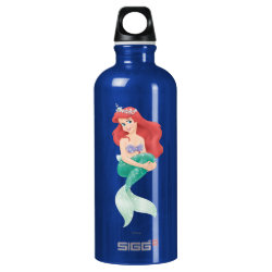 SIGG Traveller Water Bottle (0.6L) with Ariel Under The Sea - The Little Mermaid design