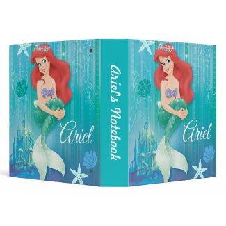Ariel and Castle zazzle_binder