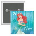 Ariel and Castle Button
