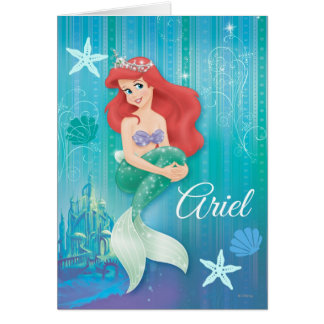 Ariel and Castle Cards