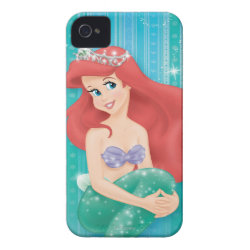Case-Mate iPhone 4 Barely There Universal Case with Ariel Under The Sea - The Little Mermaid design
