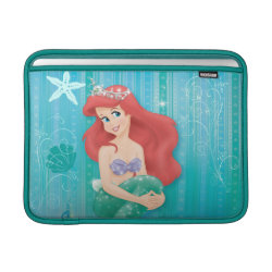 Macbook Air Sleeve with Ariel Under The Sea - The Little Mermaid design