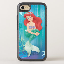 OtterBox Apple iPhone 7 Symmetry Case with Ariel Under The Sea - The Little Mermaid design