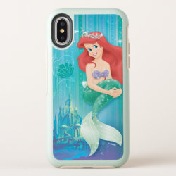 OtterBox Apple iPhone X Symmetry Case with Ariel Under The Sea - The Little Mermaid design