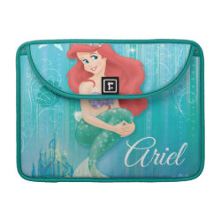 Macbook Pro 13' Flap Sleeve with Ariel Under The Sea - The Little Mermaid design