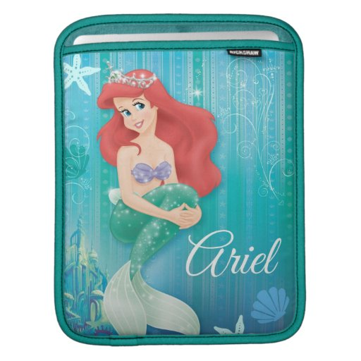 Ariel and Castle Sleeves For iPads