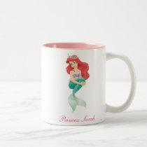 Ariel and Castle Two-Tone Coffee Mug