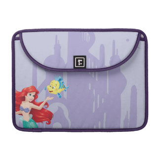 Ariel and Flounder Sleeve For MacBooks