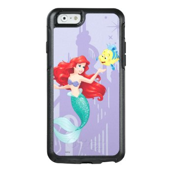 Ariel And Flounder Otterbox Iphone 6/6s Case by disney at Zazzle