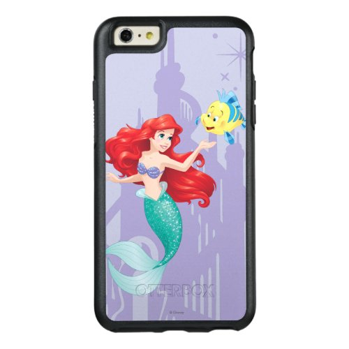 Ariel and Flounder Phone Case