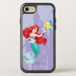 Ariel and Flounder OtterBox Symmetry iPhone 7 Case