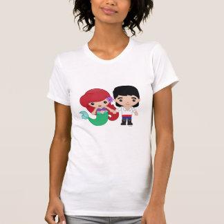 Ariel and Prince Eric Emoji 2 T-Shirt