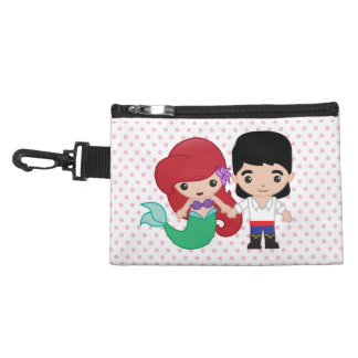 Ariel and Prince Eric Emoji Accessories Bags