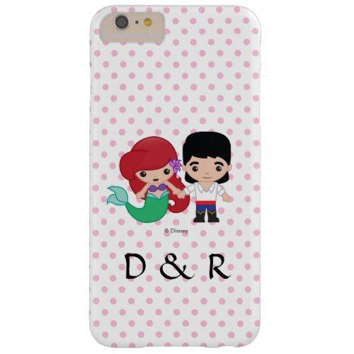 Ariel and Prince Eric Emoji Phone Case