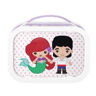 Ariel and Prince Eric Emoji Lunch Box