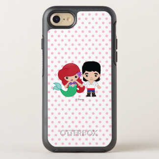 Ariel and Prince Eric Emoji OtterBox Symmetry iPhone 8/7 Case