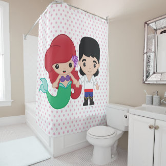 Curtains Ideas ariel shower curtain : Disney Princess Shower Curtains | Zazzle