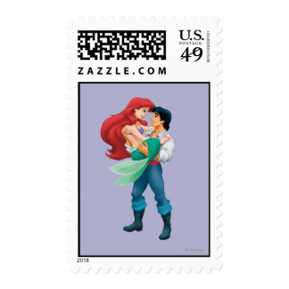 Ariel and Prince Eric Postage