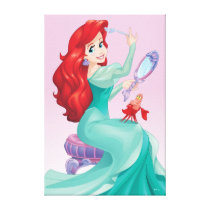 Ariel And Sebastian Canvas Print