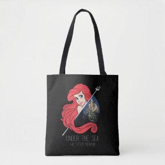 Ariel Atlantis Graphic - Under The Sea Tote Bag