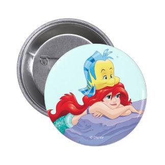 Ariel | Besties-Life's Treasure Pinback Button