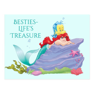 Ariel | Besties-Life's Treasure Postcard