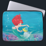 "Ariel | Besties Rule Computer Sleeve<br><div class=""desc"">Disney Princesses are empowered heroines who dream,  create and celebrate magical adventures! They help inspire young girls to see how brave,  strong and fearless they are. These princesses focus on their friendships and embracing adventure.</div>"