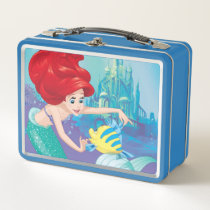 Ariel | Besties Rule Metal Lunch Box
