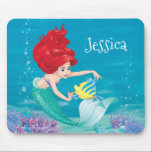 "Ariel | Besties Rule Mouse Pad<br><div class=""desc"">Disney Princesses are empowered heroines who dream,  create and celebrate magical adventures! They help inspire young girls to see how brave,  strong and fearless they are. These princesses focus on their friendships and embracing adventure.</div>"
