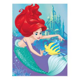 Ariel | Besties Rule Postcard
