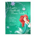 Ariel Birthday Invitation at Zazzle