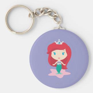 Ariel Cartoon Keychain