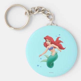 Ariel con las burbujas llaveros