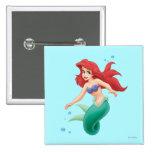 Ariel con las burbujas pin
