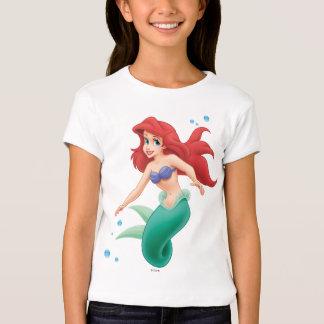 Ariel con las burbujas playera