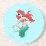 Ariel con las burbujas posavaso para bebida