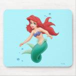 Ariel con las burbujas tapetes de raton