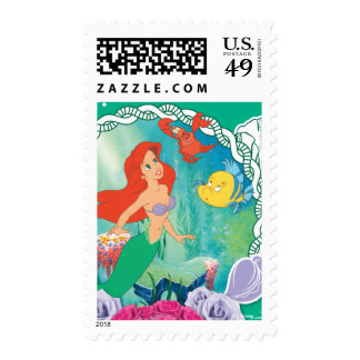 Ariel - Curious 2 Postage Stamps