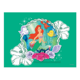 Ariel - Curious 2 Post Card