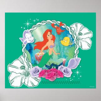 Ariel - Curious 2 Poster