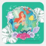 Ariel - Curious 2 Square Sticker