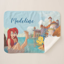 Ariel | Dream Big Sherpa Blanket