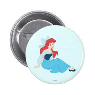 Ariel en vestido pin redondo 5 cm