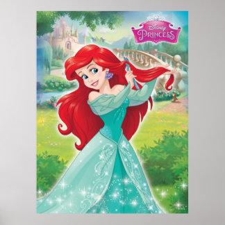 Ariel en vestido póster
