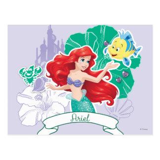 Ariel - enérgico tarjetas postales