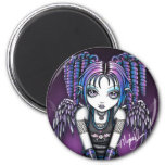 Ariel Gothic Knealing Angel Refrigerator Magnets