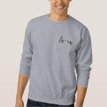 Ariel - Hebrew Script Lettering Sweatshirt