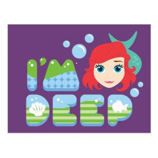 Ariel | I'm Deep Postcard
