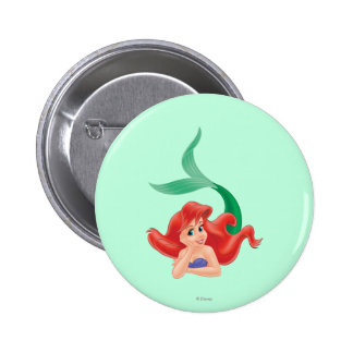 Ariel Laying Down Buttons
