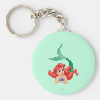 Ariel Laying Down Keychain